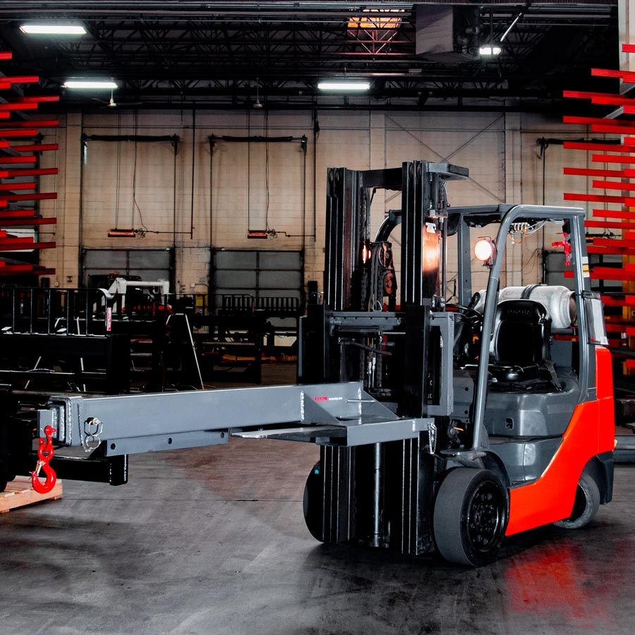 Extension Booms - Arrow Material Handling Products