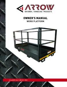 Work Platform Manual