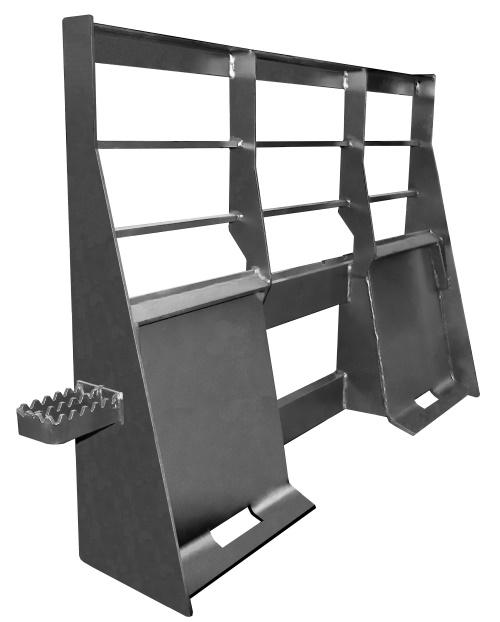 Heavy-duty skid steer frame