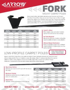 Carpet Poles