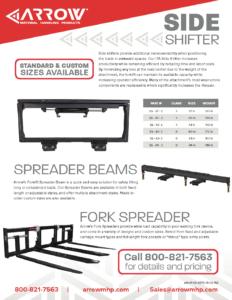 Side Shifters & Fork Spreaders