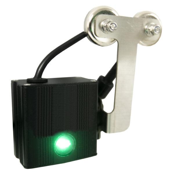 Forklift laser guide green laser